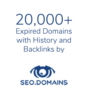 20,000+ Expired Domains with History and Backlinks